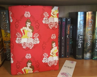 Personalized Belle Beauty and the Beast Book Sleeve Protector