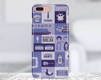 Friends TV case iphone 8 case Samsung S8 case iphone 7 case plastic case iphone x case phone case silicon case iphone 6 plus case
