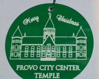 LDS Temple Christmas Tree Decorations