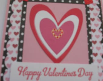 Sale - Heart Valentine Card