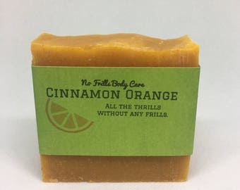 Orange Cinnamon All Natural Soap