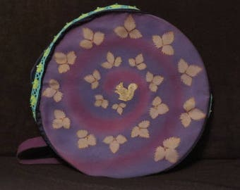 bag or cover for Native American shamanic drum for 40-42 cm diameter drum