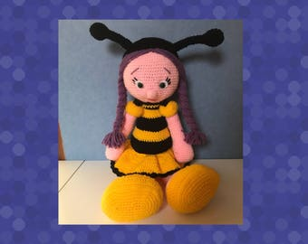 Character miss bee