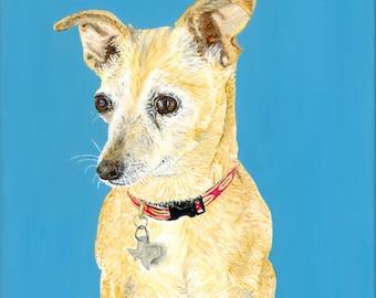 Dog Portraits - made to order originals