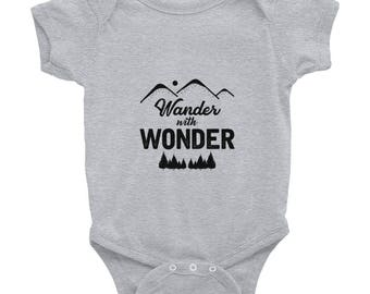 Wander with Wonder Infant Bodysuit