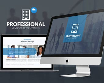 Professional Business Keynote Template