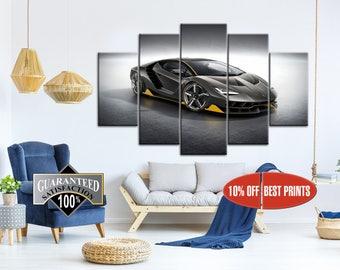 Lamborghini canvas, Lamborghini poster, Lamborghini print, Lamborghini wall art, Sport car print, Sport car poster, Sport car photo