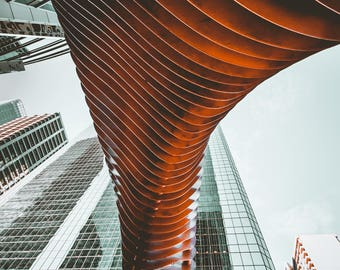 Abstract Architecture in Calgary
