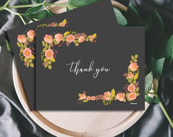 Bloom Thank you Card