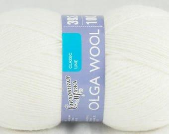 """Knitting Yarn Semenovskaya """"Olga"""" 95% wool"""