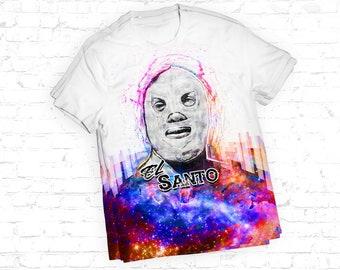 El Santo Luchador T Shirt