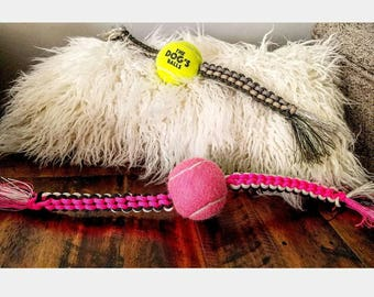 Square Knot Dog Rope Toy