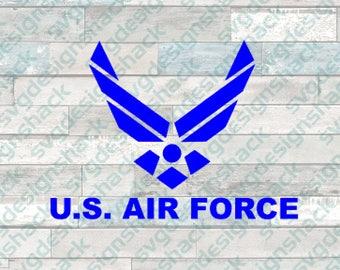 United States Air Force Emblem SVG, DXF, EPS, Studio 3, Png
