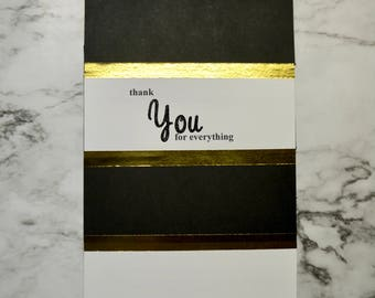 Elegant Thank You Card **Customizable**