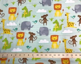 Jungle Jubilee, Wilmington Prints, Flannel, Fabric