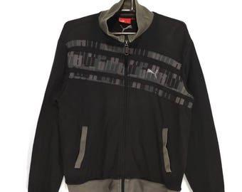 Vintage puma Sweater full zip sweatshirt