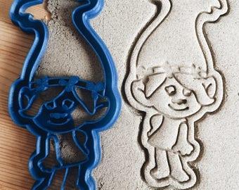 Troll Poppy Cookie Cutter