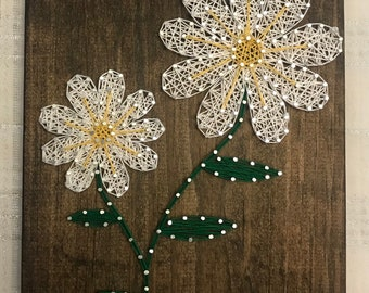 Flower String Art
