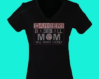Danger Baseball Mom will shout loudly