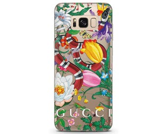 phone case Gucci floral Samsung case Pixel cases Gucci s8 case google pixel xl phone case flowers Gucci snake art Silicone phone case pixel