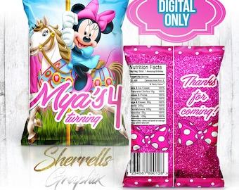Minnie Mouse Theme Etsy
