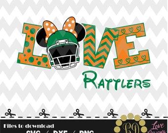 Love FAMU Rattlers svg,png,dxf,cricut,silhouette,college,jersey,shirt,proud,gators,seminoles,cut,university,football,bulldogs,miami,florida