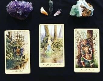 3 Card Past, Present, Future Spread