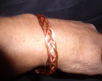 Copper man's  bracelet
