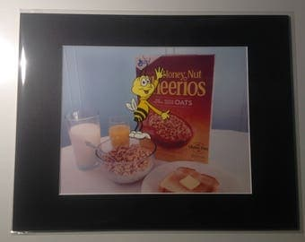 Classic Cheerioes Bee Animation Production Cel and Background