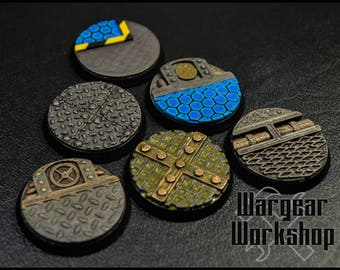 32mm Sci-Fi Bases Pack 1
