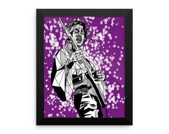 Jimi Hendrix (Geometric)