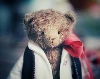 Artist mohair teddy bear