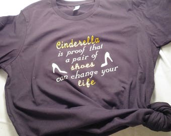Cinderella inspired T-shirt