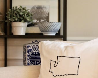 State  Pillow Cover