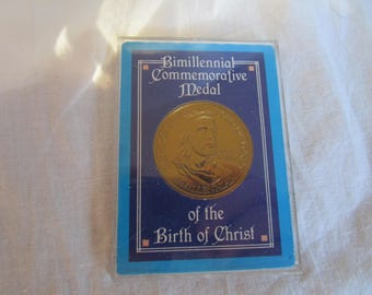 Bimillennial Commemorative Medal of the Birth of Christ Encased Coin