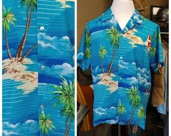 Vintage Calabash Cuzzins Hawaiian Shirt
