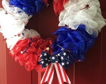 Fouth of July Wreath
