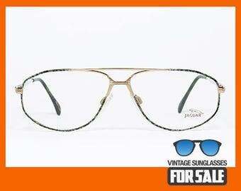 Vintage eyeglasses Jauguar 379 B14 original made in Germany 1988