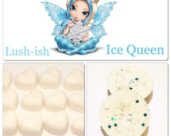 3 snow fairy lush soy wax melts, designer perfume melts, best wax melts, strong wax melts, scented gifts for her, cheap melts