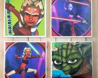 Star Wars Comic Book Coaster Set