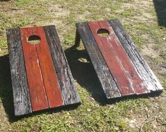 Rustic Corn hole boards
