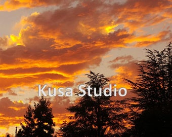 Downloadable Print Photography Oregon Sunset