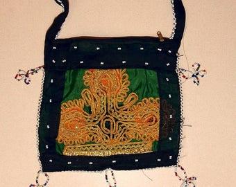 HANDBAG Kuchi Tribal Hobo BellyDance ATS Costume Handmade Kuchi Tribe 765f1