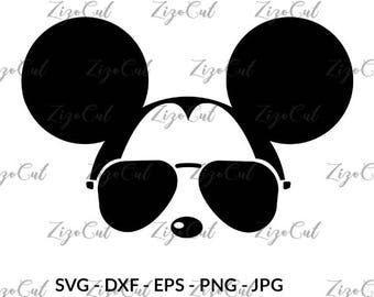 Mickey glasses svg, Mickey mouse svg, Mickey glasses, mickey mouse svg