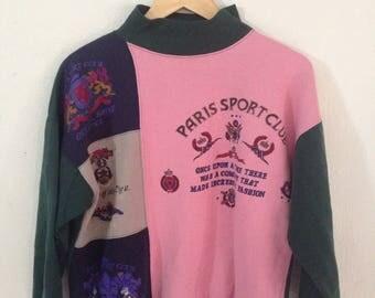 Vintage Sweatshirt Paris Sport Club