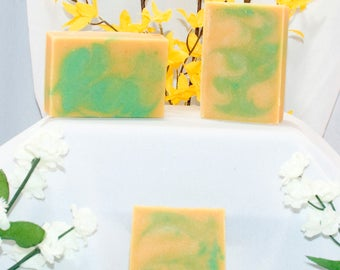 Lemongrass, Goat Milk Soap, Homemade Soap
