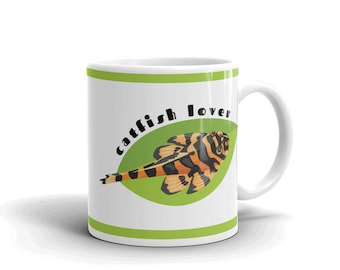 Aquarium Fish Lover Mug - Catfish Lover - Coffee Drinking Mug