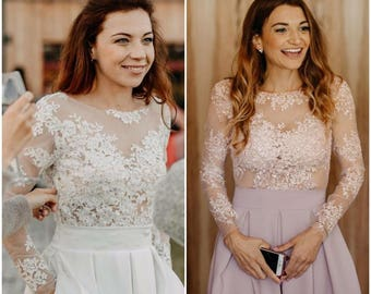 Wedding top&skirt