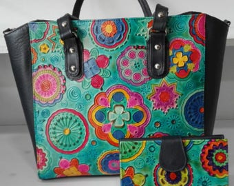 Handmade Leather Handbag & Wallet
