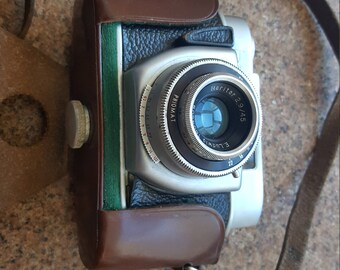 camera leather camera strap vintage camera antique camera camera decor film camera